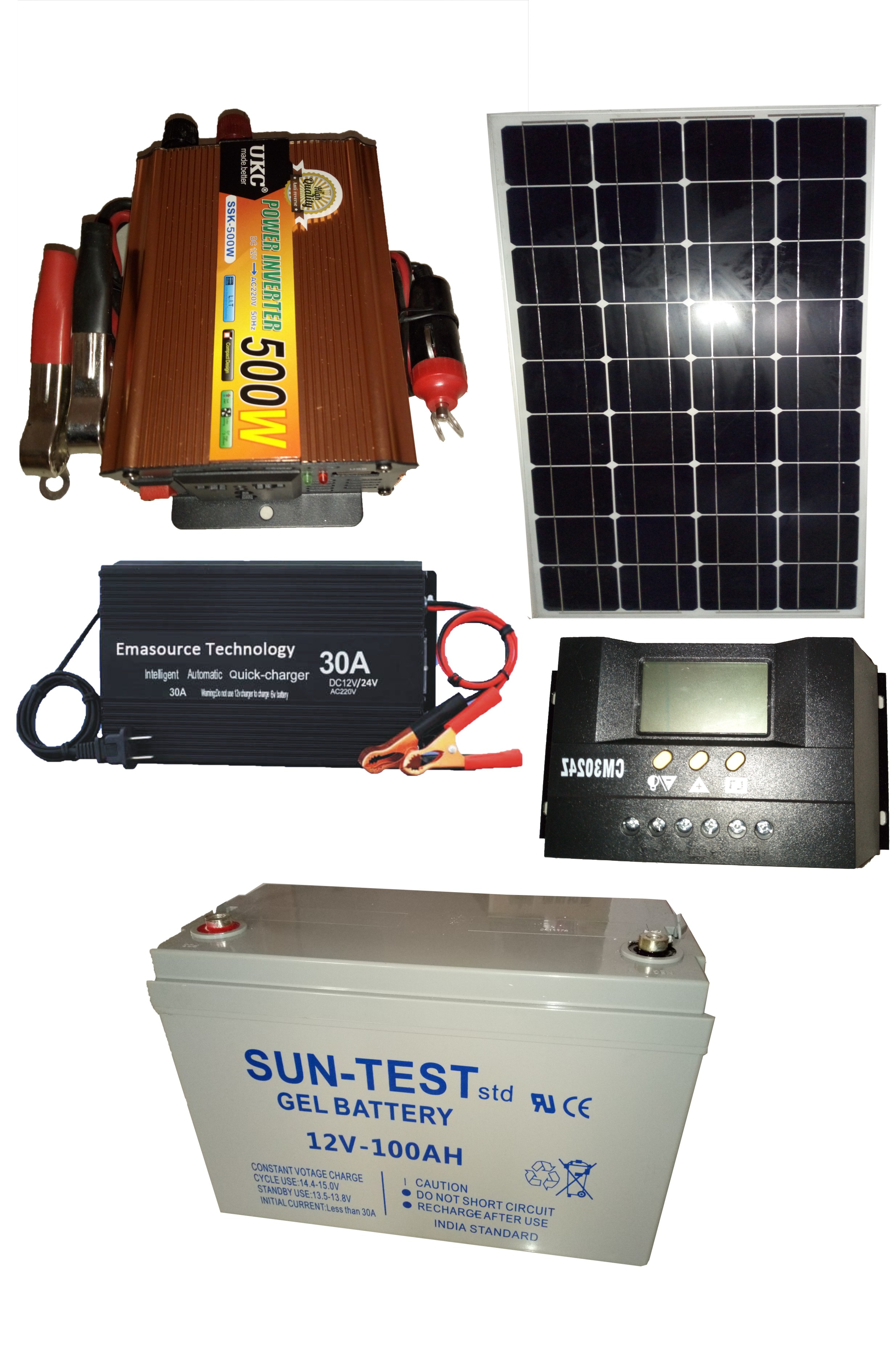 500w 12v Off Grid Solar System Sean Electromec With Panel Bypass Schematic